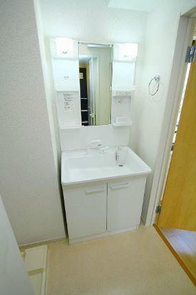 画像10:洗面所