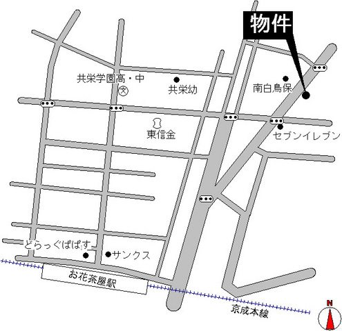 東京都葛飾区白鳥3丁目